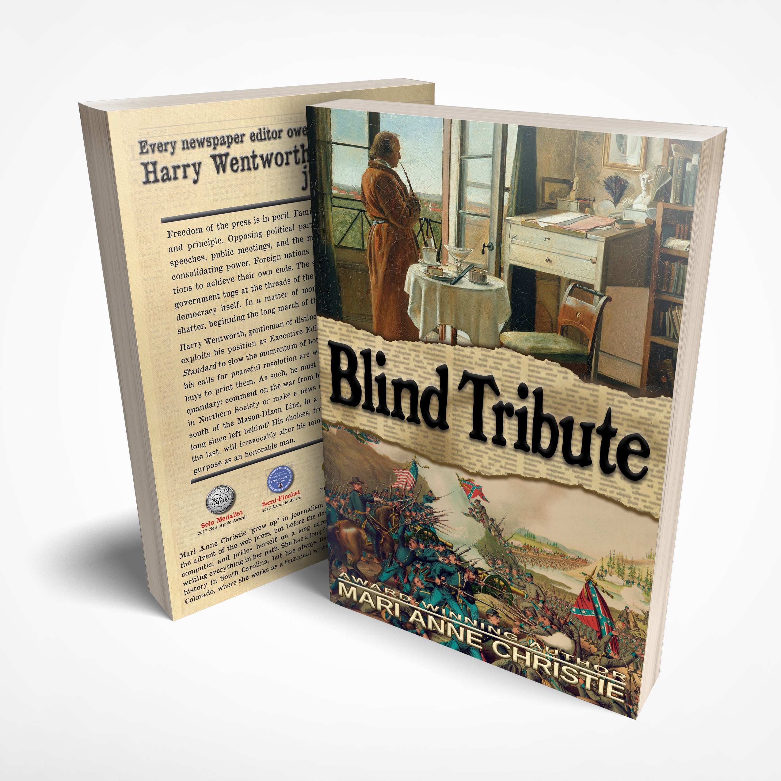 Blind Tribute Paperback LARGE PRINT